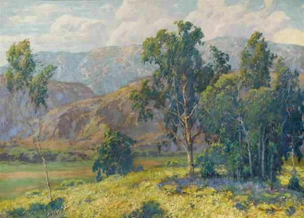 California Splendor by Maurice Braun Oil Painting Reproductions