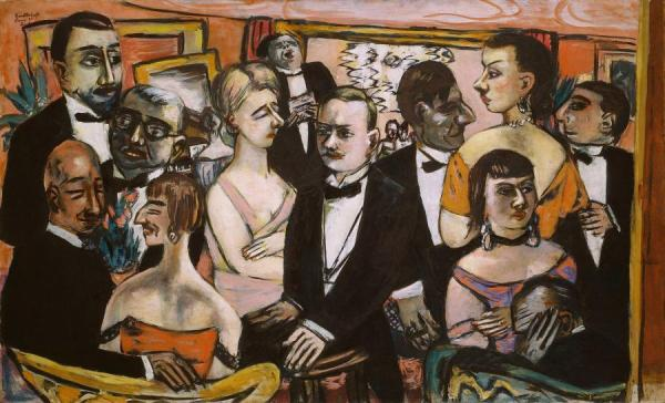 Party In Paris by Max Beckmann Oil Painting Reproductions