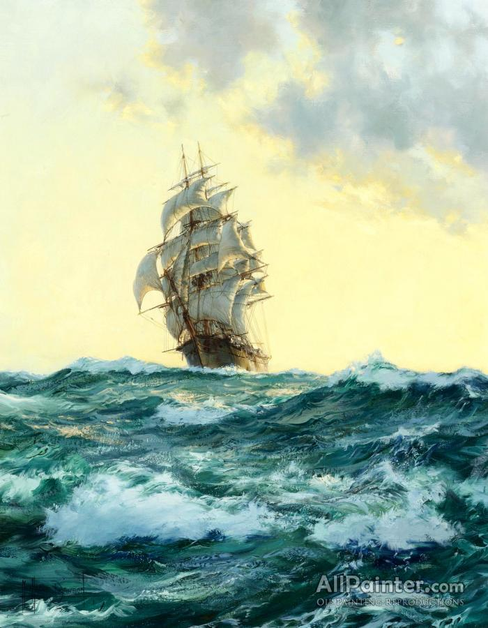 Montague Dawson paintings for sale:The Glory Of The Seas