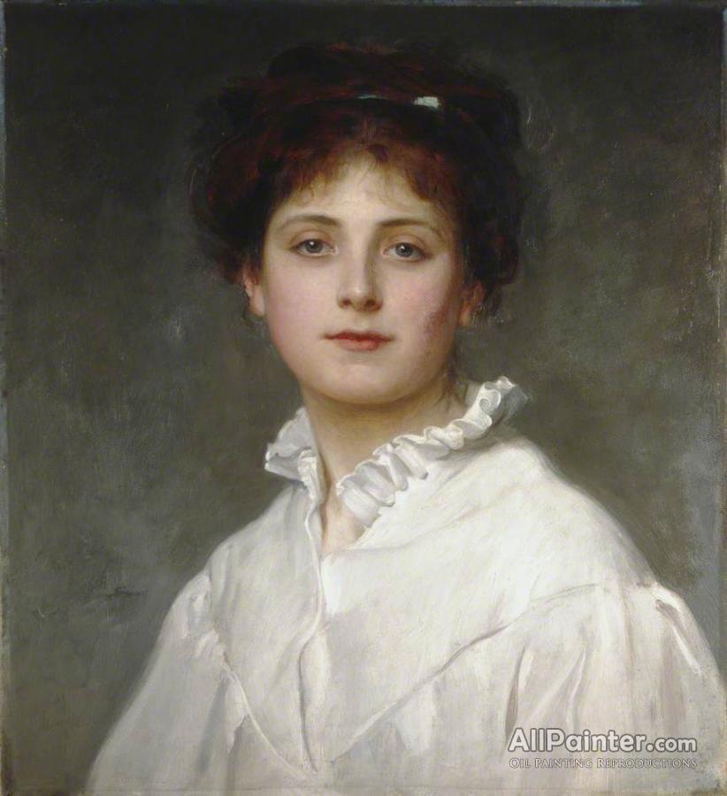 Philip Hermogenes Calderon paintings for sale:Margaret