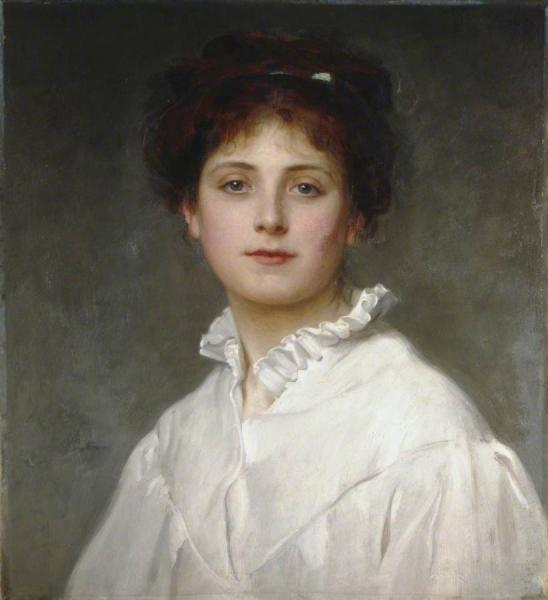 Margaret by Philip Hermogenes Calderon Oil Painting Reproductions