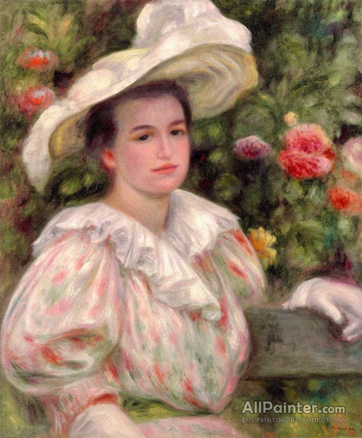 Renoir girl with flowers consider, that