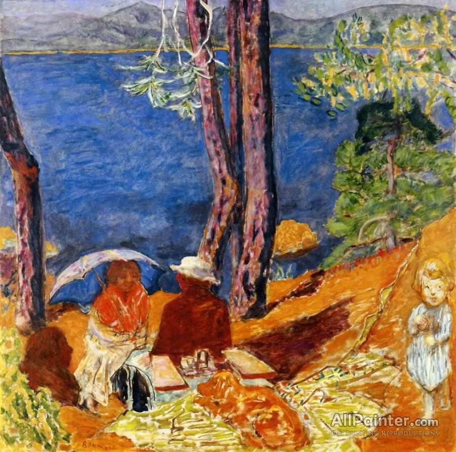 Pierre Bonnard paintings for sale:By The Sea, Under The Pines