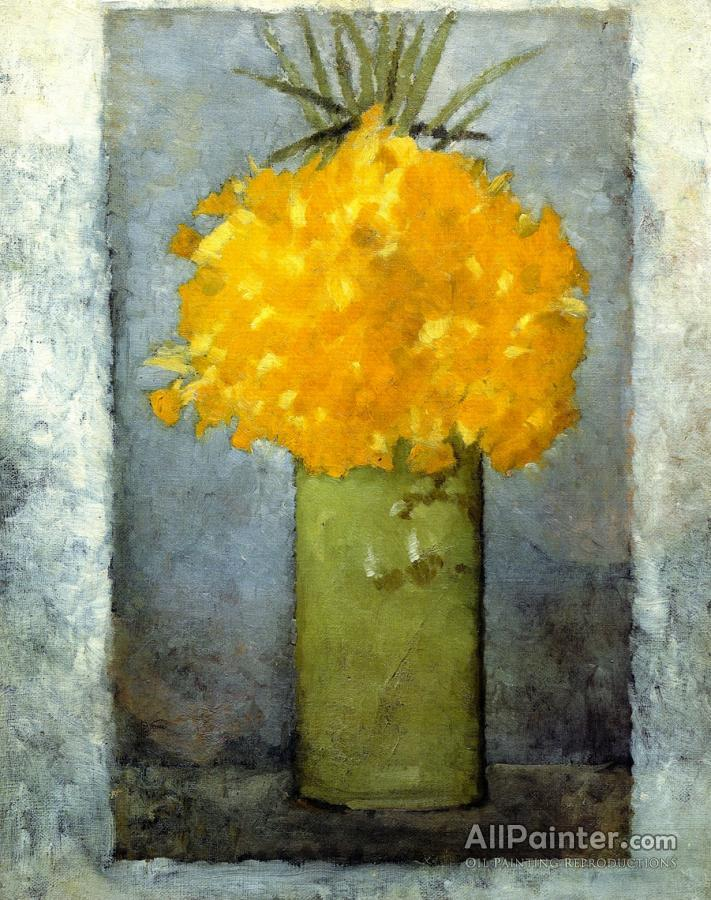Pierre Bonnard paintings for sale:Daffodils In A Green Pot