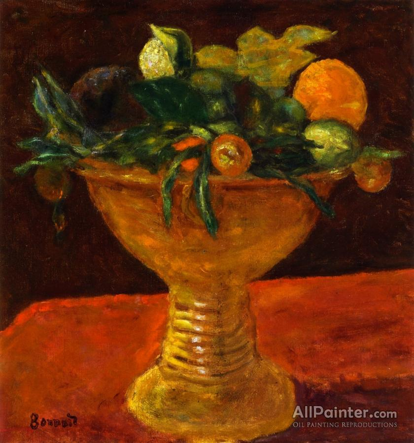 Pierre Bonnard paintings for sale:Fruit Bowl With Mandarins
