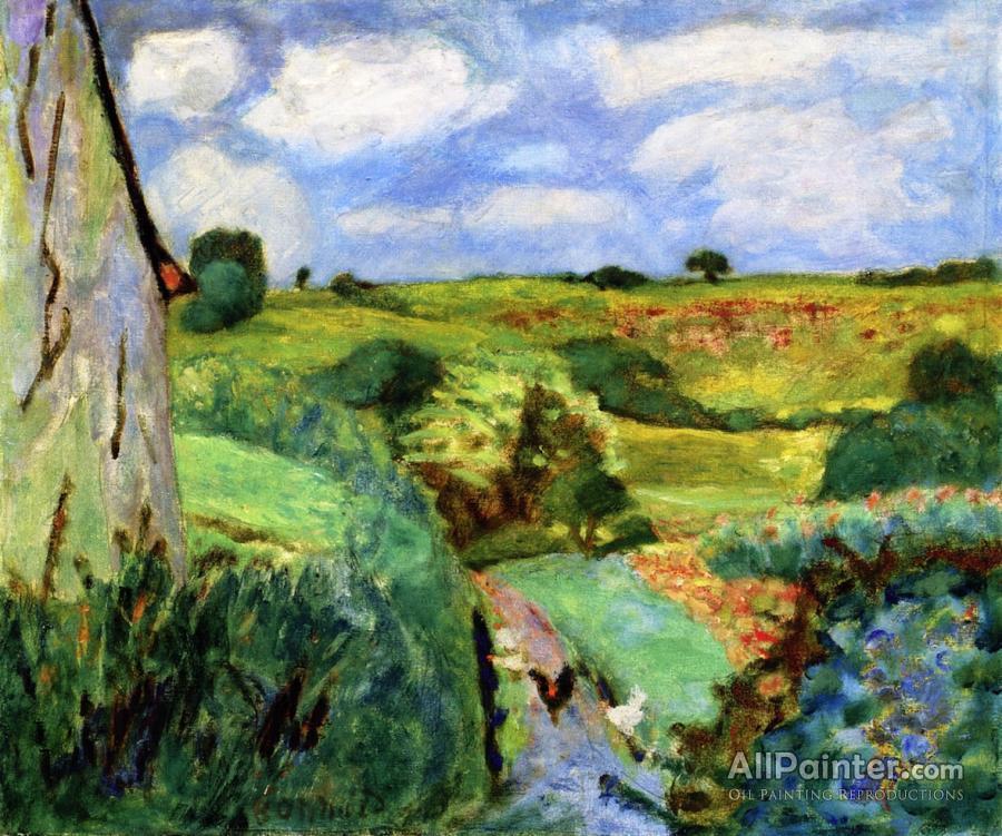 Pierre Bonnard paintings for sale:Le Chemin Creux