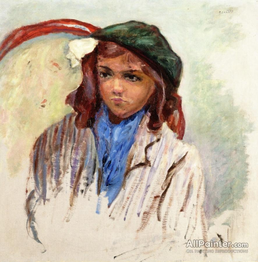 Pierre Bonnard paintings for sale:Little Girl In A Green Beret