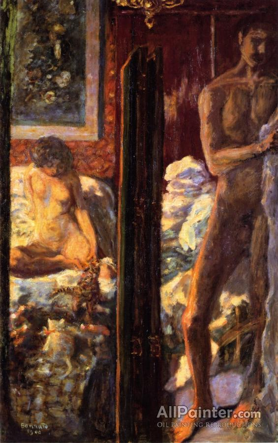 Pierre Bonnard paintings for sale:Man And Woman