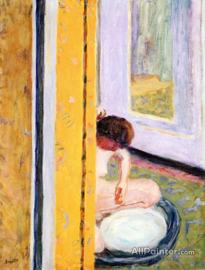 Pierre Bonnard paintings for sale:Nude Crouching In A Tub