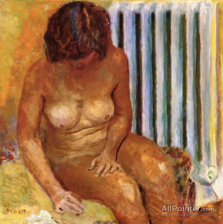 Pierre Bonnard paintings for sale:Nude With Radiator