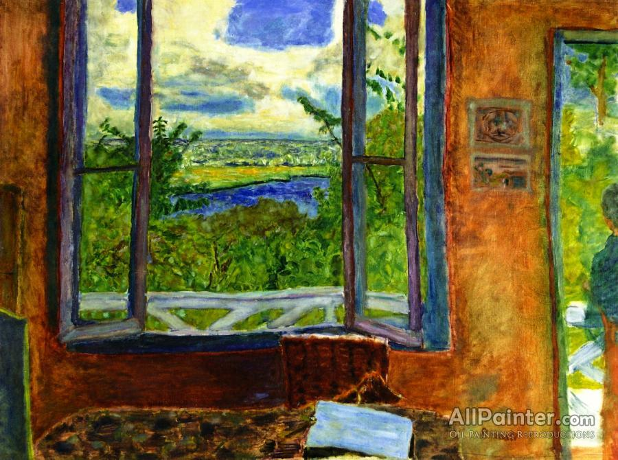 Pierre Bonnard paintings for sale:Open Window Toward The Seine (vernon)