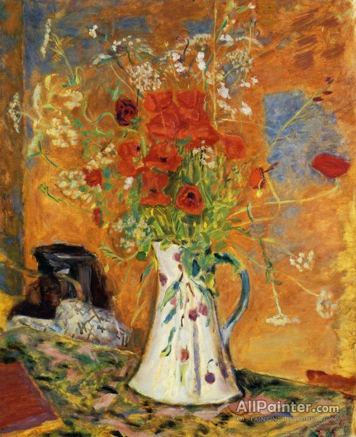 Pierre Bonnard paintings for sale:Poppies