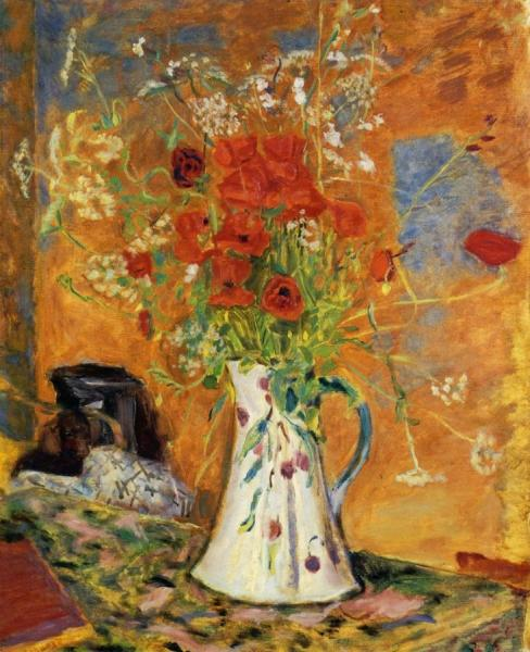 Poppies by Pierre Bonnard Oil Painting Reproductions