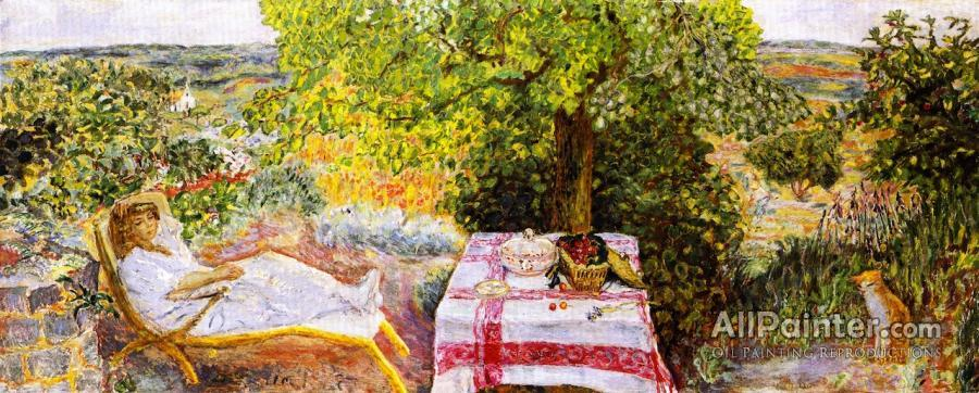 Pierre Bonnard paintings for sale:Resting In The Garden