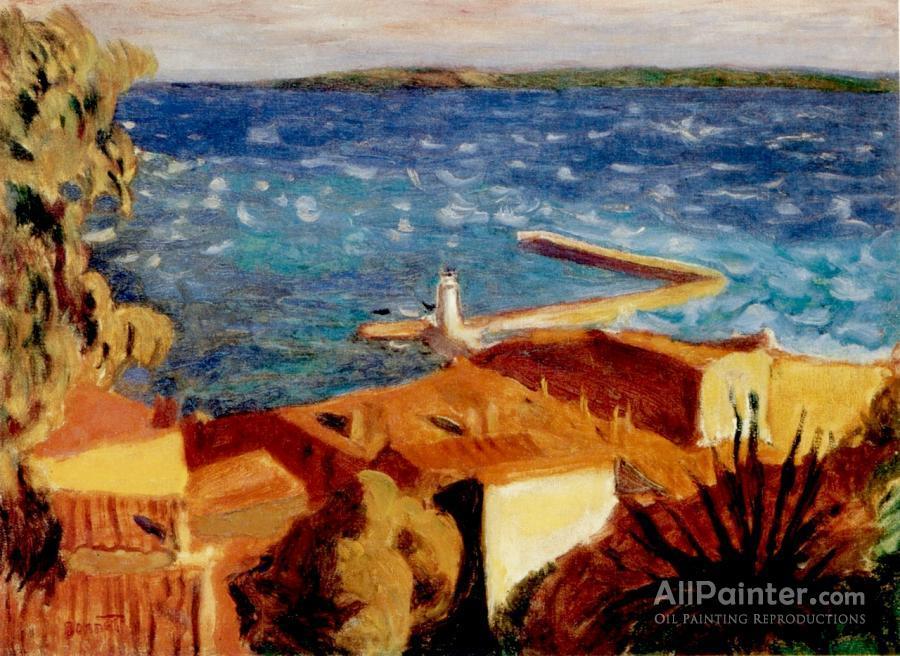 Pierre Bonnard paintings for sale:Small Mediterranean Port