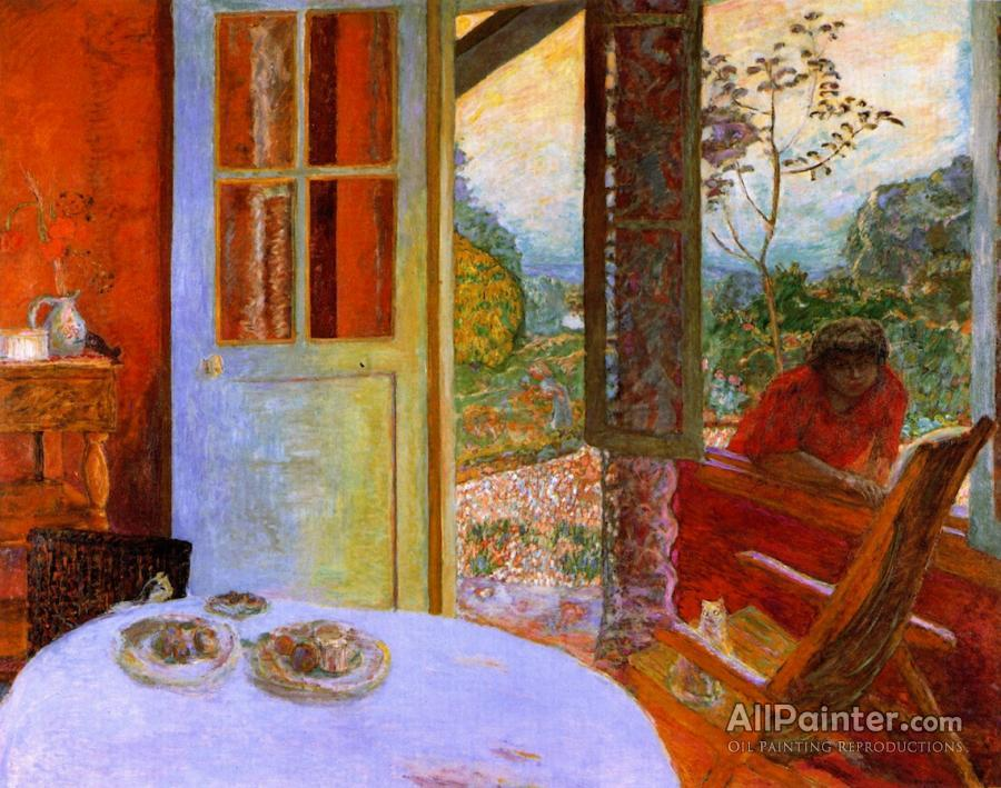 Pierre Bonnard paintings for sale:The Dining Room In The Country