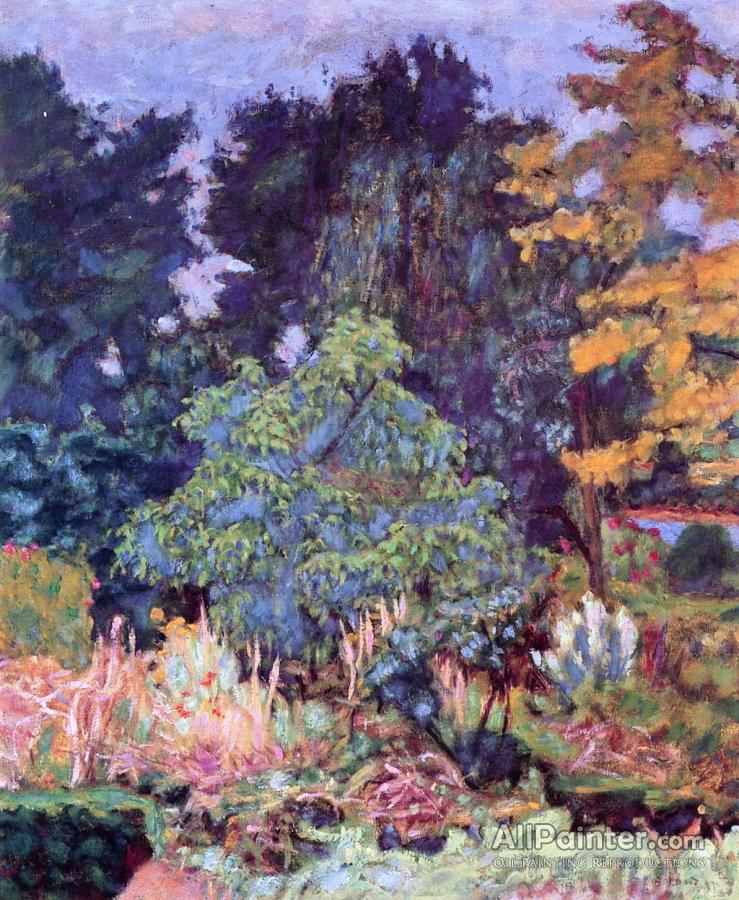 Pierre Bonnard paintings for sale:The Garden At Vernon