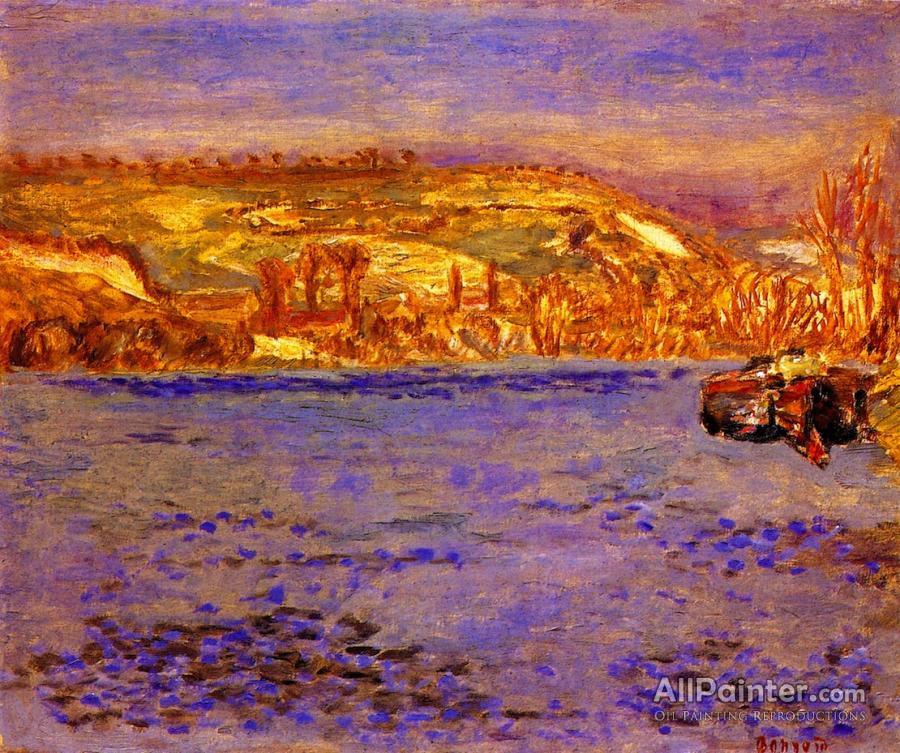Pierre Bonnard paintings for sale:The Seine At Vernonnet