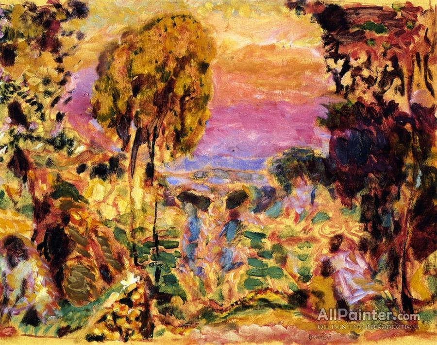 Pierre Bonnard paintings for sale:Violet Countryside