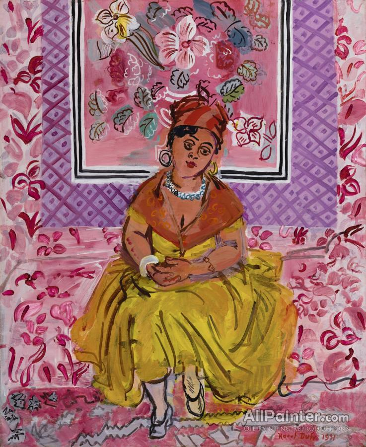 Raoul Dufy paintings for sale:A Woman From Martinique