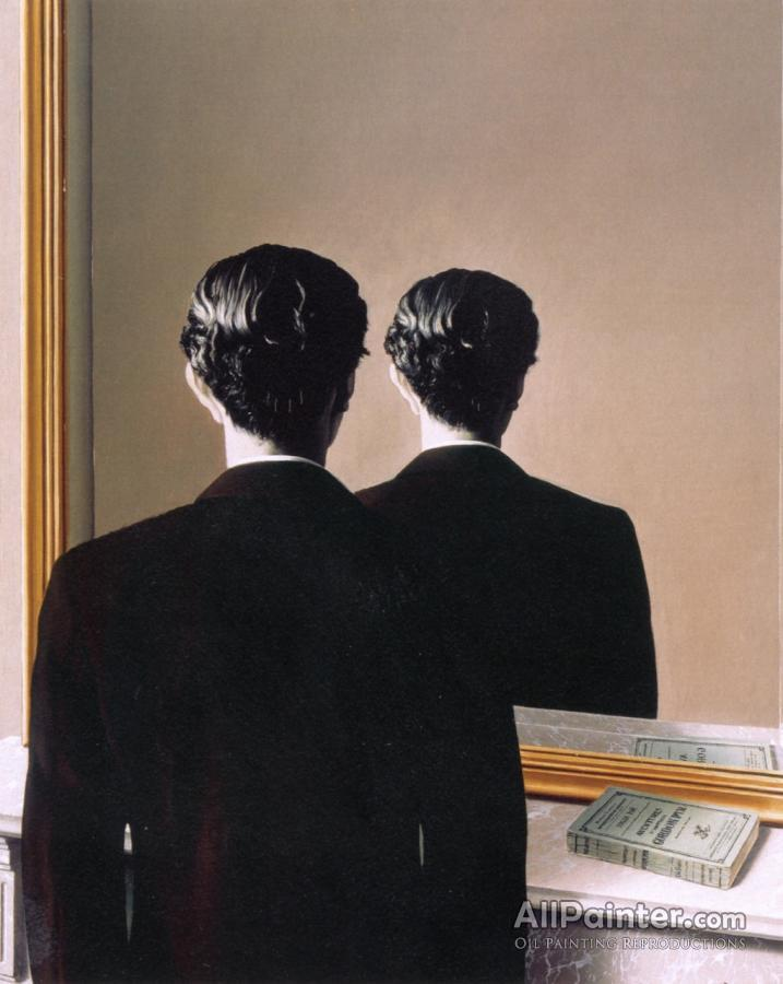Rene Magritte paintings for sale:La Reproduction Interdite