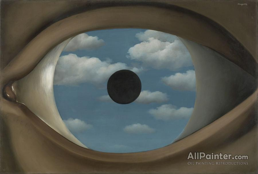 Rene Magritte paintings for sale:The False Mirror, 1928