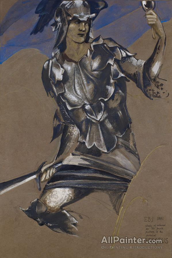 The Perseus Series Study Of Perseus In Armour For The Finding Of Medusa