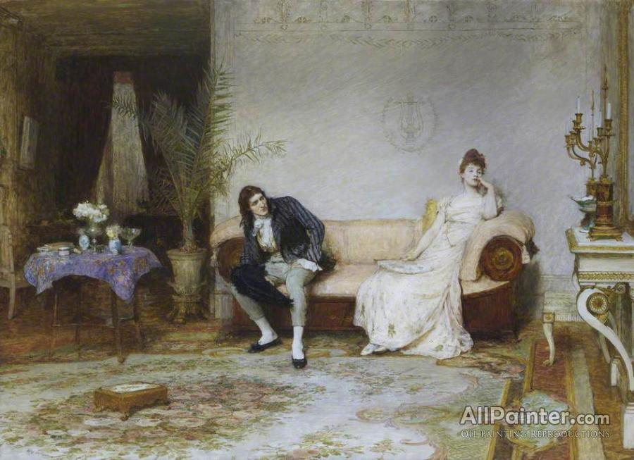 Sir William Quiller Orchardson paintings for sale:Enigma