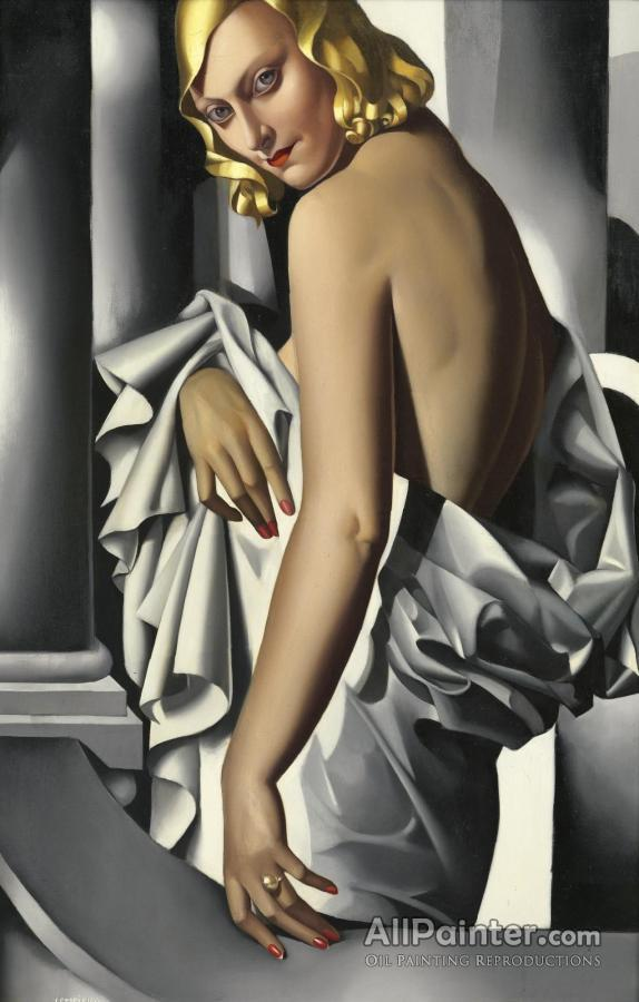 Tamara De Lempicka paintings for sale:Portrait De Marjorie Ferry, 1932