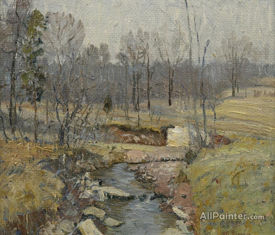 Walter Emerson Baum paintings for sale:Landscape, Early Spring