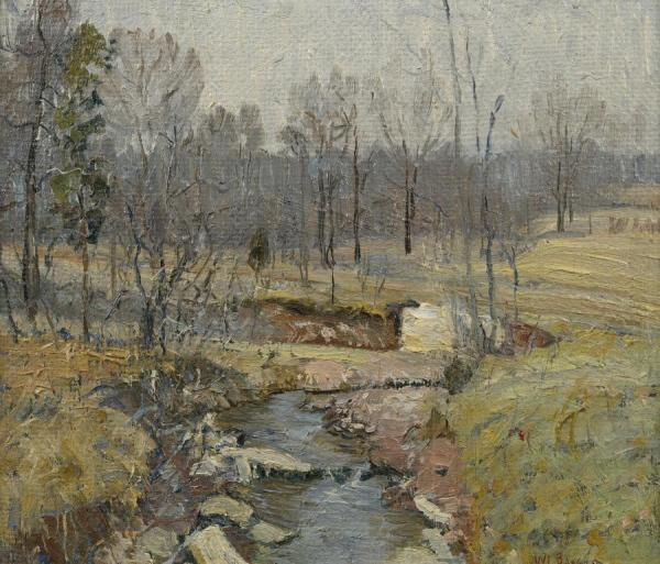 Landscape, Early Spring by Walter Emerson Baum Oil Painting Reproductions