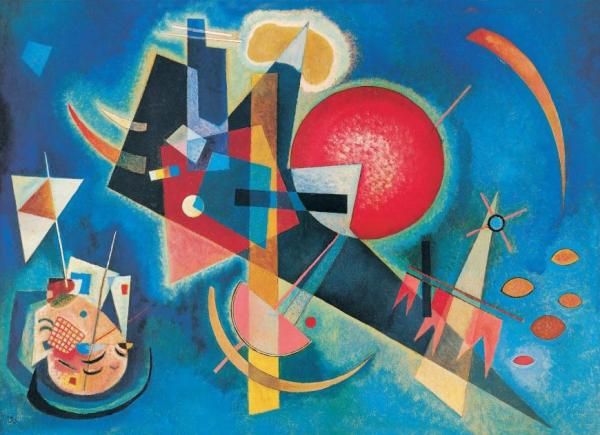 In Blue by Wassily Kandinsky Oil Painting Reproductions