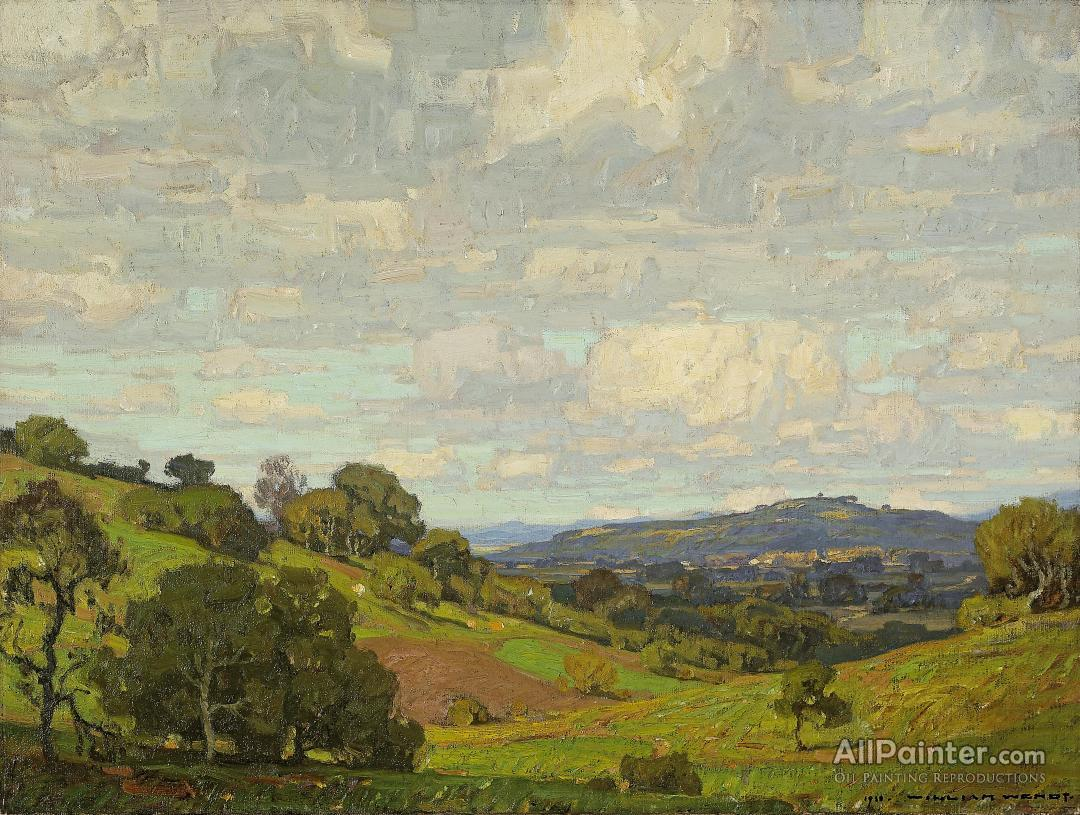William Wendt California Landscape Oil Painting Reproductions For Sale Allpainter Online Gallery