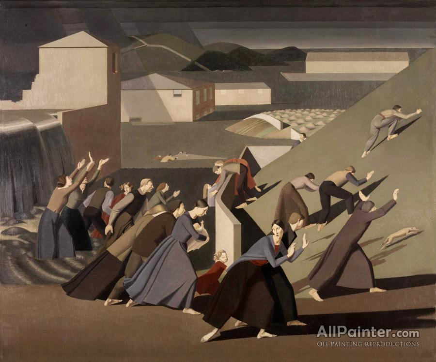 Winifred Knights paintings for sale:The Deluge, 1920