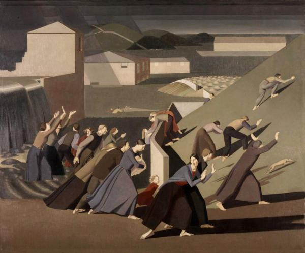 The Deluge, 1920 by Winifred Knights Oil Painting Reproductions