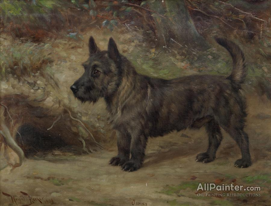 Wright Barker paintings for sale:Jamey