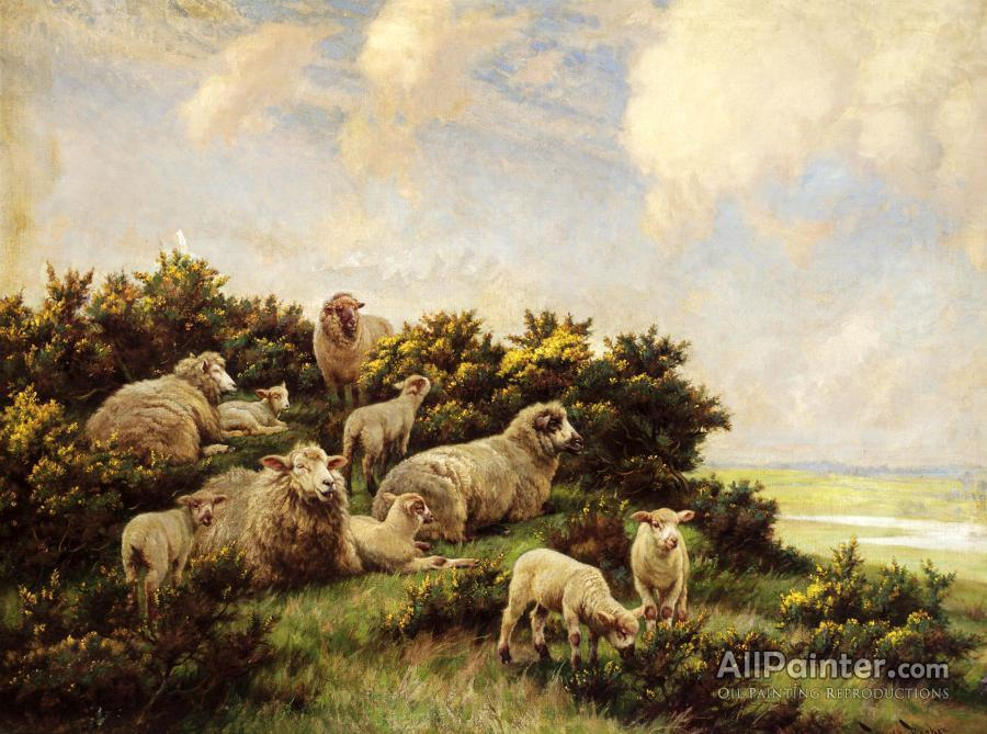 Wright Barker paintings for sale:Spring