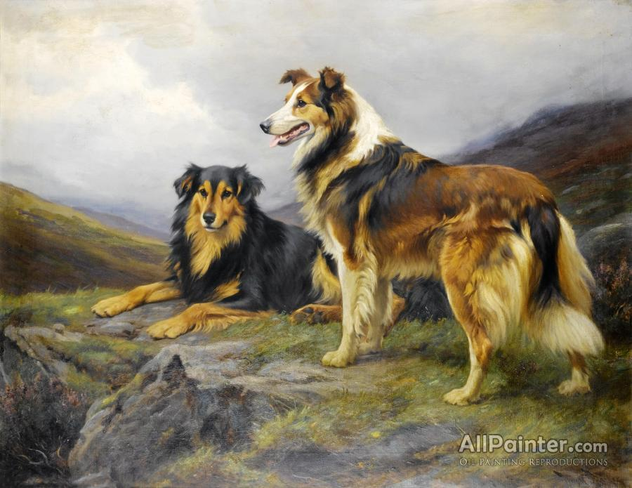 Wright Barker paintings for sale:The Sentinel